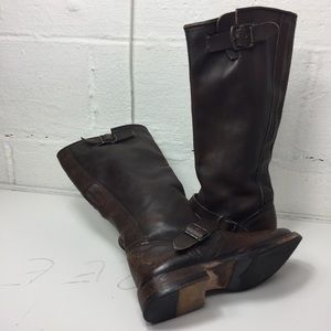 Steve Madden Women leather boots